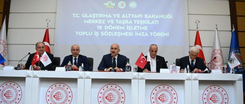 Karaismailoğlu運輸大臣からの女性労働者への朗報