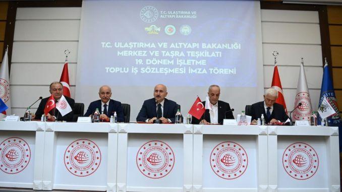 Gute Nachrichten für Arbeitnehmerinnen von Verkehrsminister Karaismailoğlu
