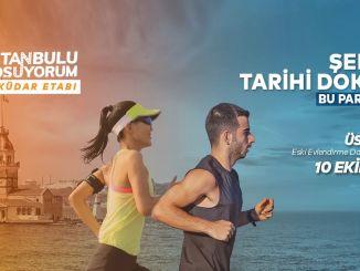 ultima prova prima dell'uskudar n Kolay Istanbul Marathon