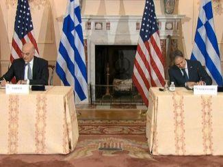 ग्रीस से अमेरिका समझौते के बाद अहंकारी खतरा, हम ईजियन और भूमध्य सागर में युद्ध के लिए तैयार