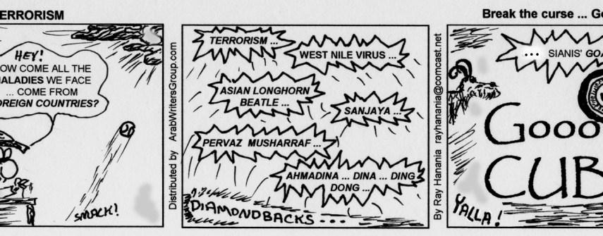 War on Errorism Cartoons by RayHanania