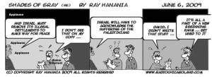 06-06-09 Obama Offers new beginnings, for everyone Comic Strip