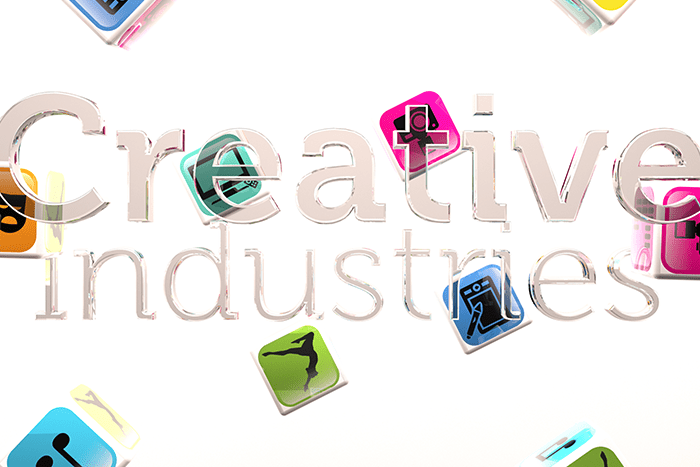 creative industries icons