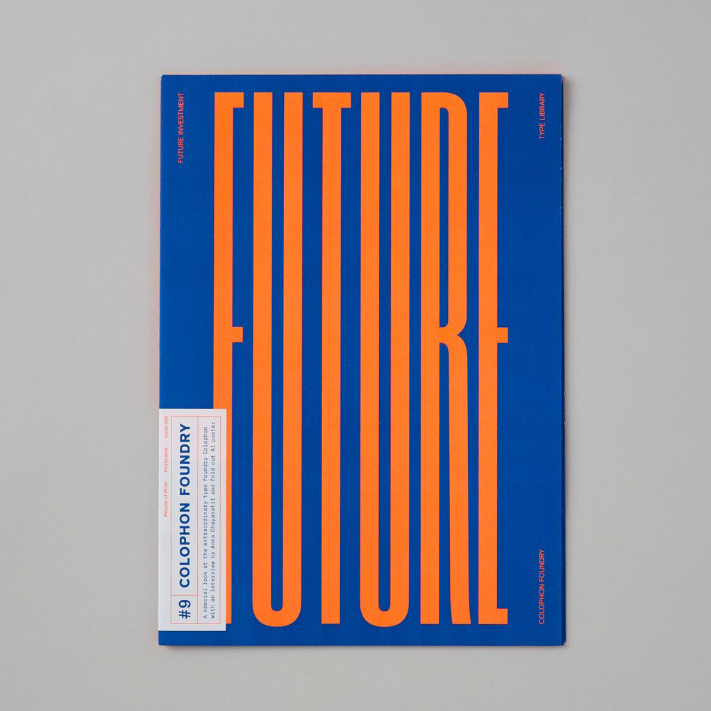 Colophon Type Foundry