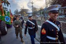 Smiling Marines.
