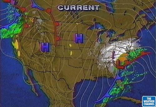 Blizzard, January 7-8, 1996