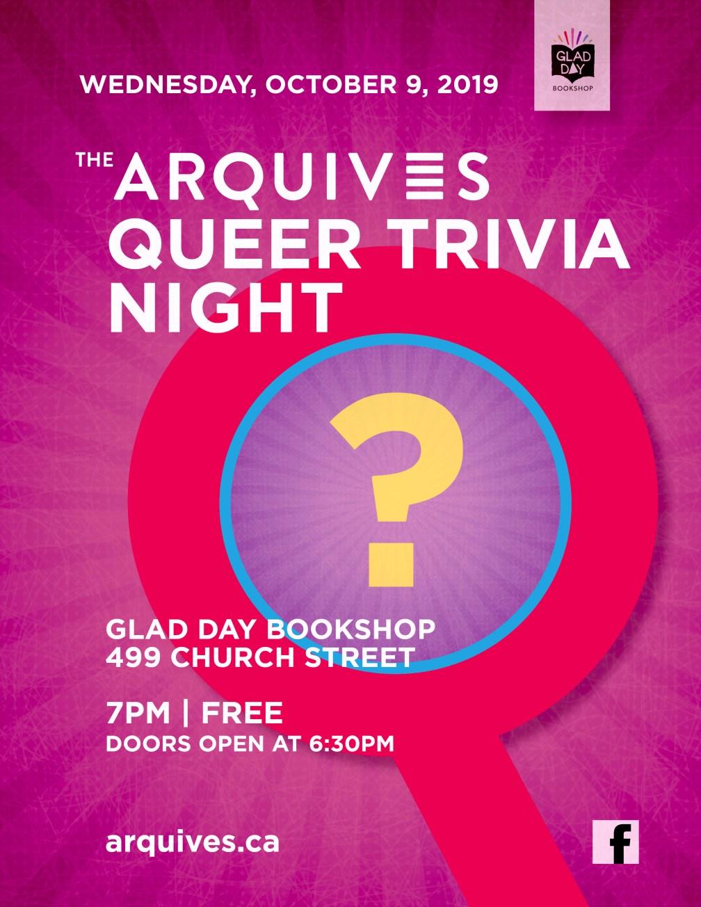 ArQuives Trivia Night