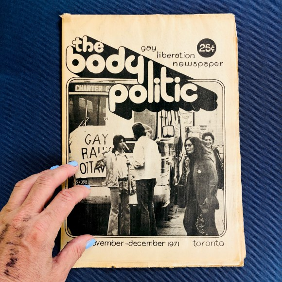 First-issue-of-The-Body-Politic-Raymond-Helkio
