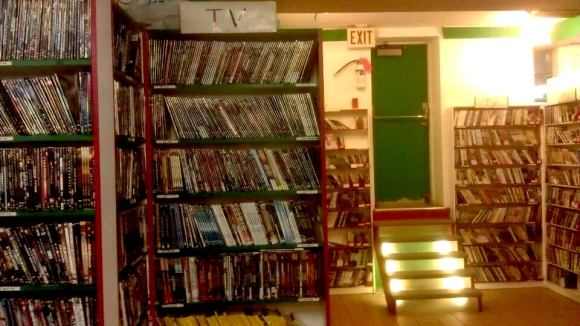 Photo of the inside of 7-24 Movies & More