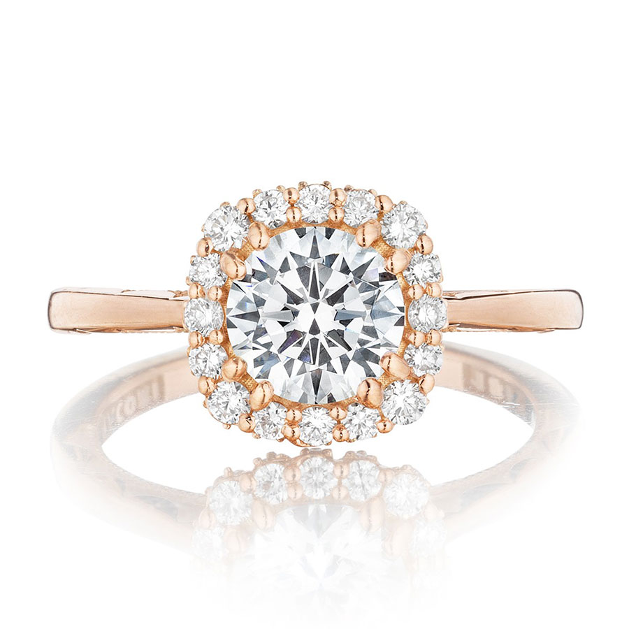 Tacori Engagement Rings Pretty In Pink Rose Gold