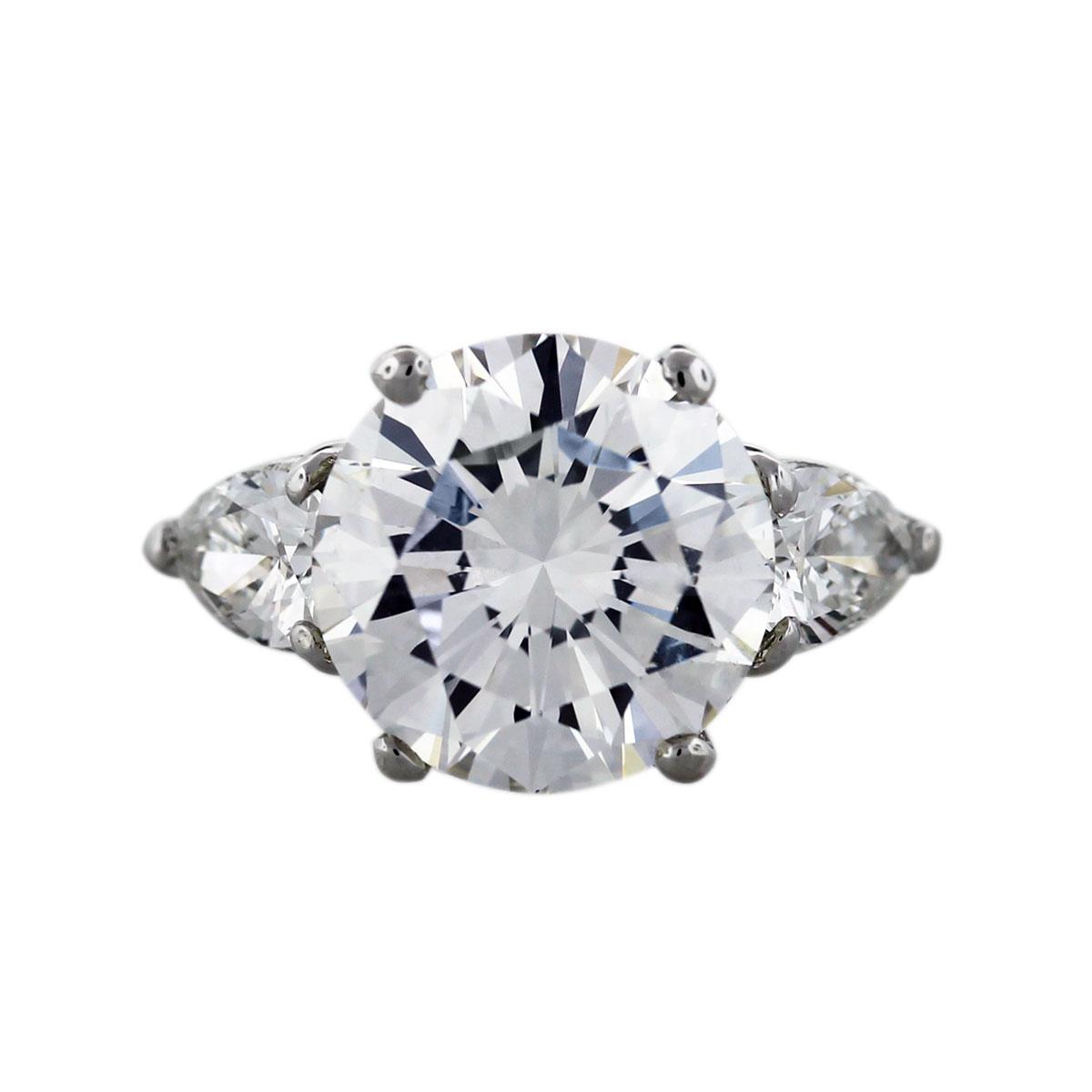 Platinum 501 Carat Round Diamond Engagement Ring Boca Raton