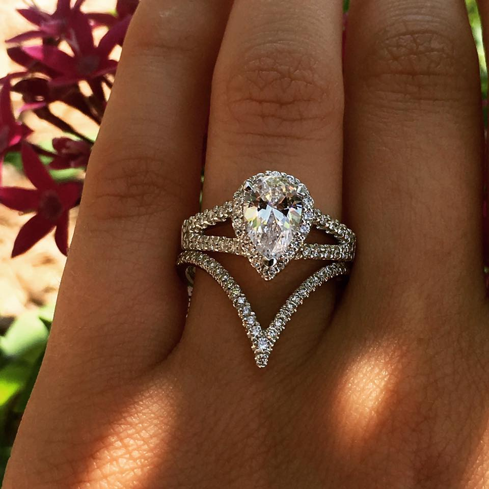 Diamonds By Raymond Lee Engagement Rings Top