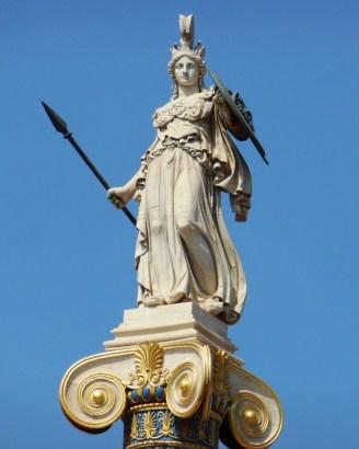 Athens-Statue-of-Athena