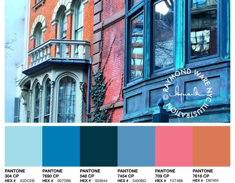 Pantone Perfection Architecture Palette