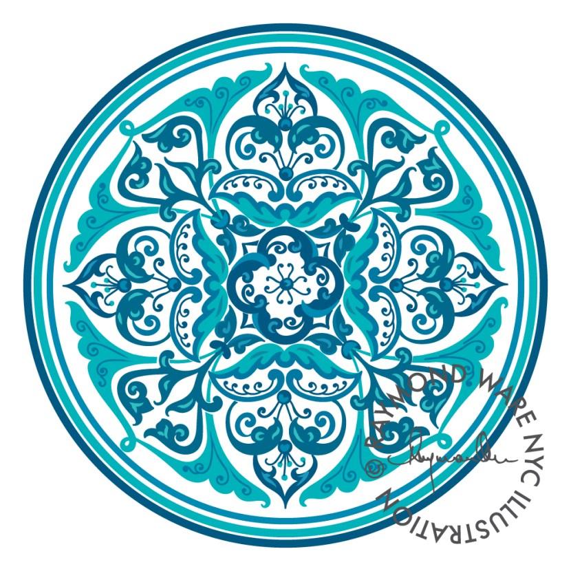 Circular-Acanthus-Pattern-1_Col-1
