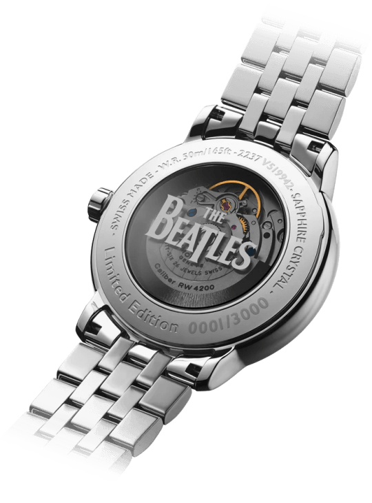 """Maestro 'The Beatles """"Abbey Road"""" Limited Edition' Automatic Date Watch, 40mm"""