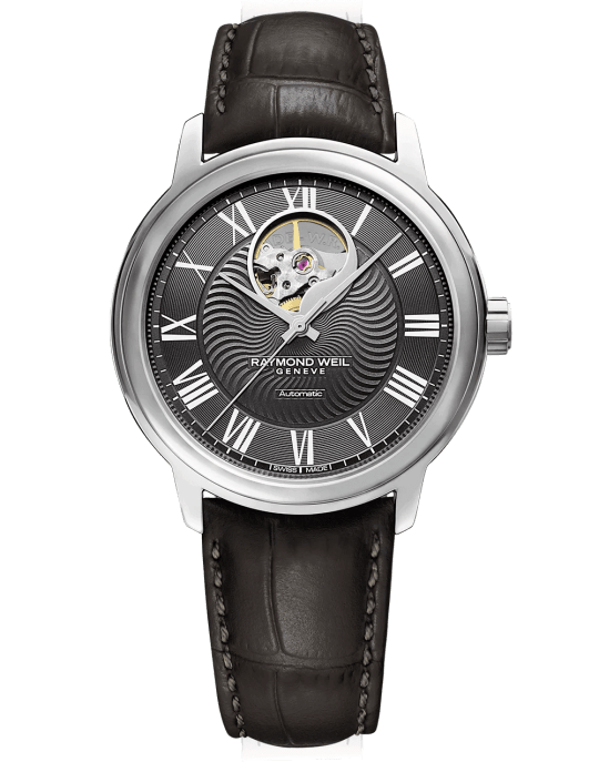 RW Online Exclusive- Maestro Visible Balance Wheel Automatic Watch