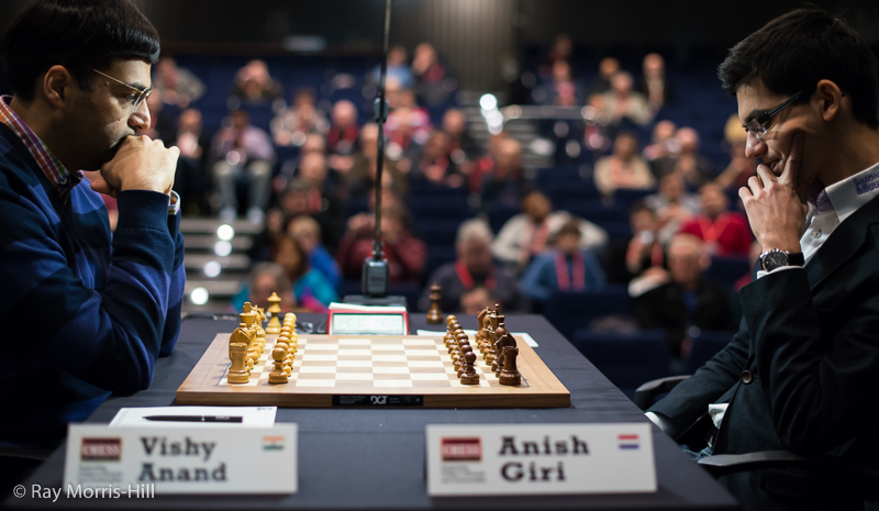 Round 4: Vishy Anand vs Anish Giri