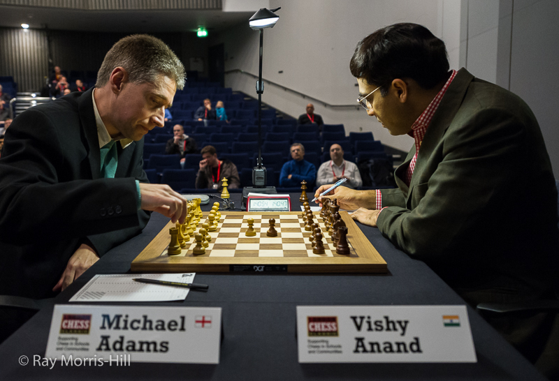 Round 5: Michael Adams vs Vishy Anand