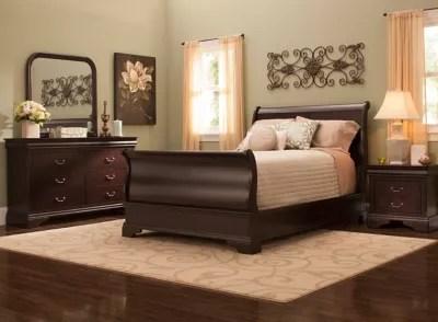 charleston 4 pc full bedroom set