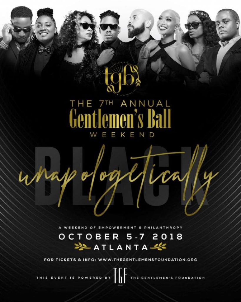 , The Gentlemen's Ball: Unapologetically Black