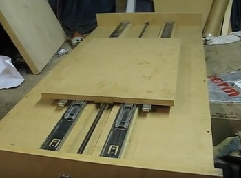 CNC Router MDF Build with Ball Bearing Draw Slides