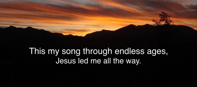 Jesus Led Me.001
