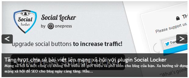 wordpress content slide