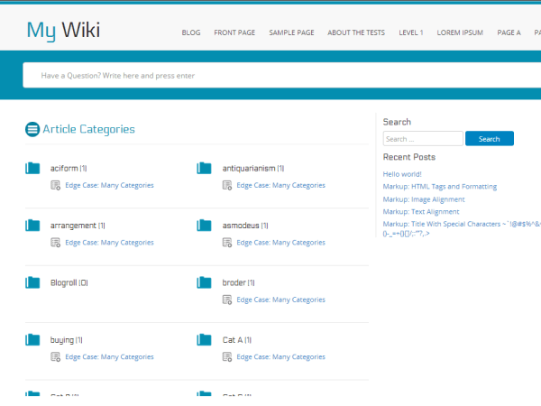 myWiki theme wordpress dep