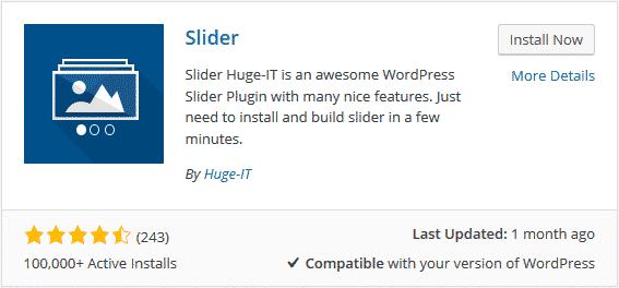 tao slide trong wordpress - slider ảnh