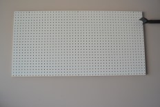 Newly Installed Pegboard