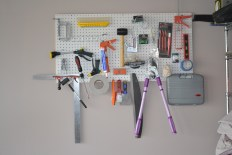 Loaded up Pegboard