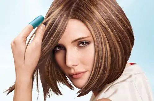 rayitos para el pelo corto