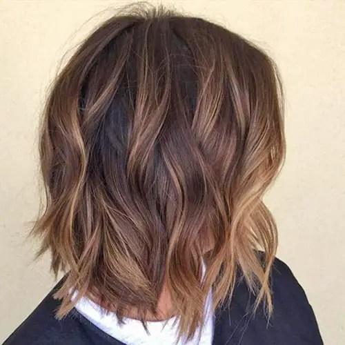 rayitos en cabello corto