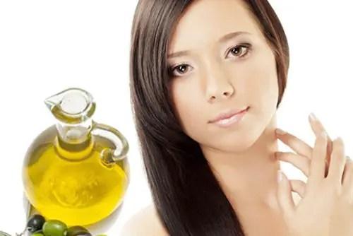 mascarilla para el pelo con aceite de oliva