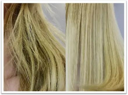 cabello sedoso y sin frizz