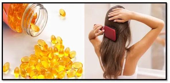 Vitamina E para el pelo