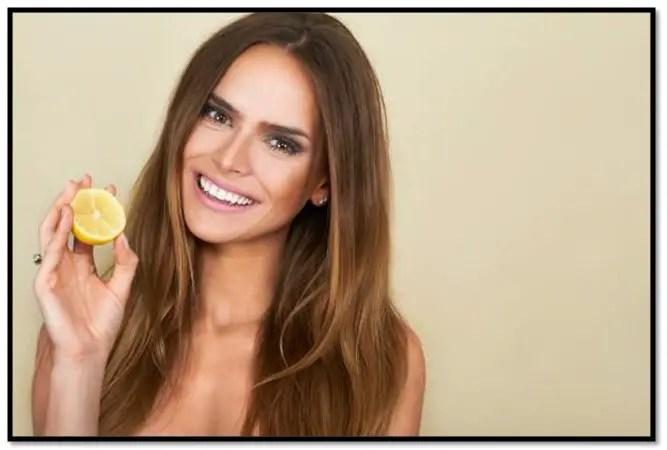 Propiedades del limón para el cabello
