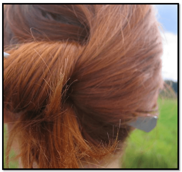 como quitar el color naranja del cabello