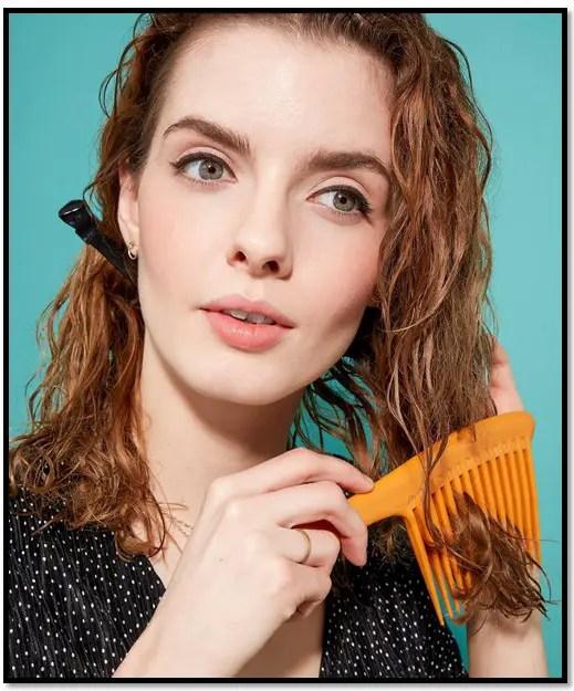 desenredante de cabello casero