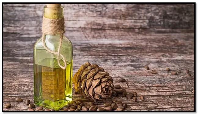 aceite esencial de cedro para el cabello