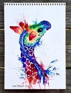 rainbow-giraffe