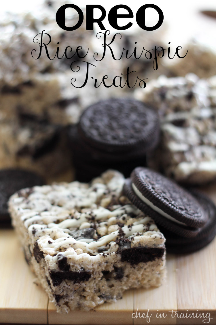 Oreo Rice Krispie Treats Ray Ray S Fav Recipes