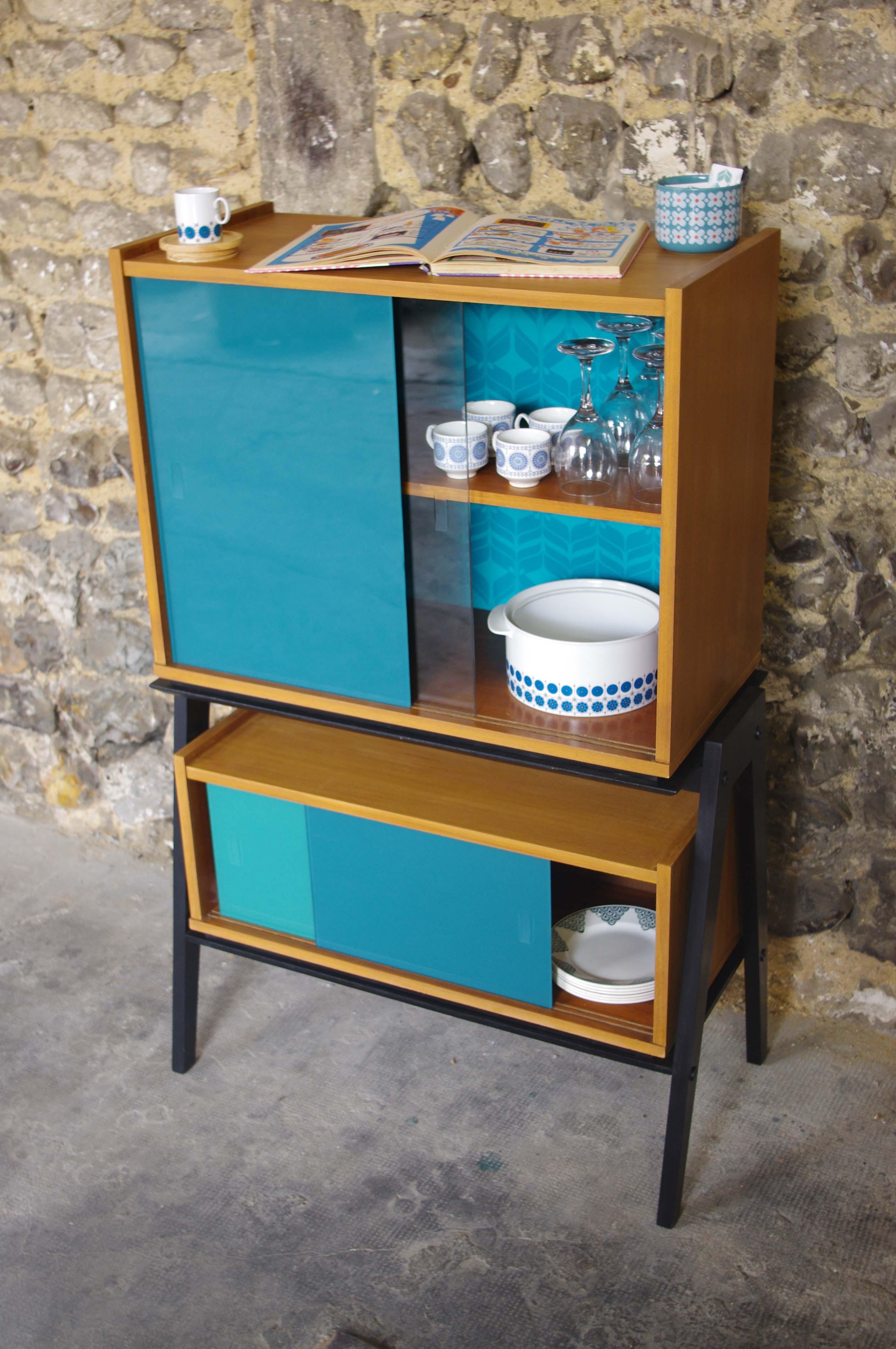 meuble vintage vaisselier seine ikea