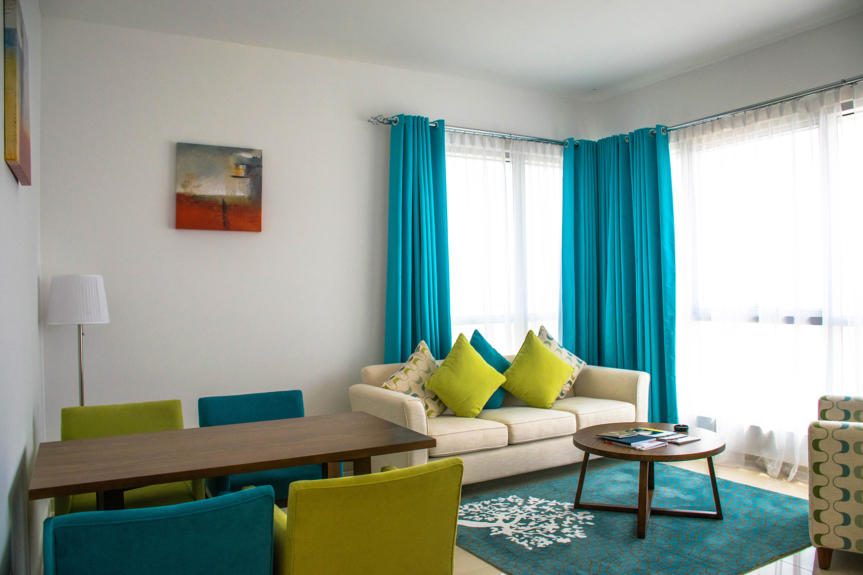 living room curtain color ideas for