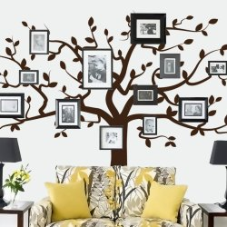 custom large family tree wall decals for living room wall art stickers