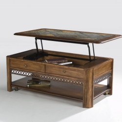 awsome modern solid wood lift top coffee table