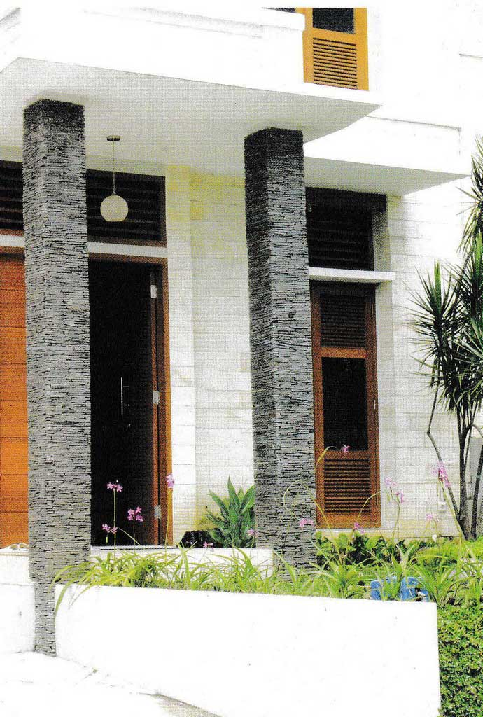Building Facade for Modern Minimalist Home Projects | Raysa House