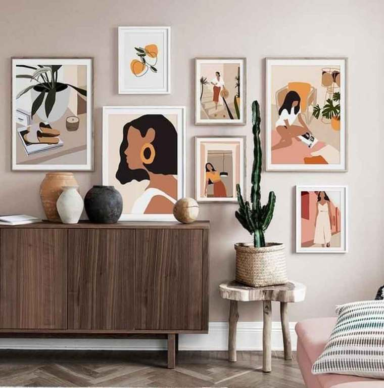 3 Mid Century Modern Wall Art Accent Decor That You'll Love| Raysa House