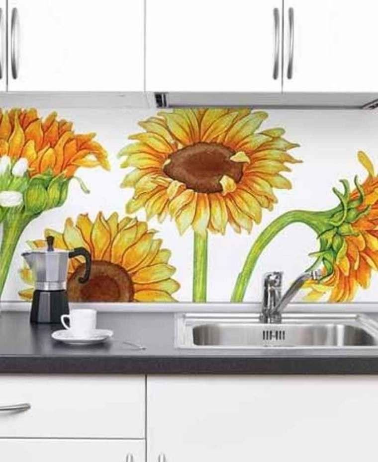 5 DIY Pretty Sunflower Kitchen Decor Theme   Raysa House